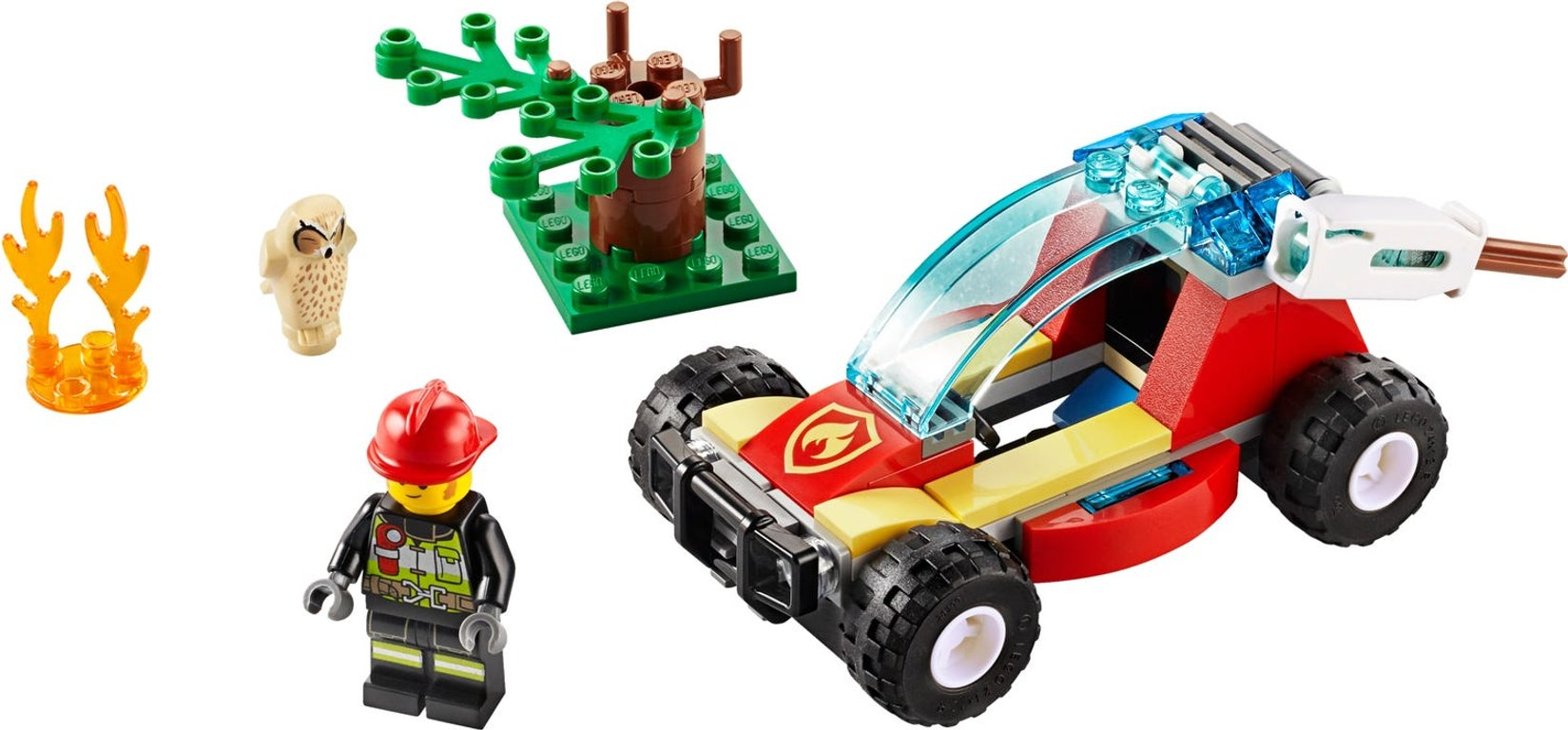 LEGO® City Forest Fire components