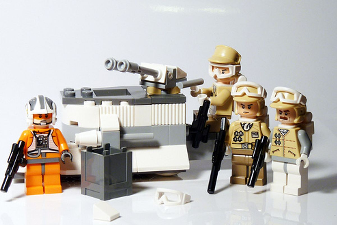Rebel Trooper Battle Pack components