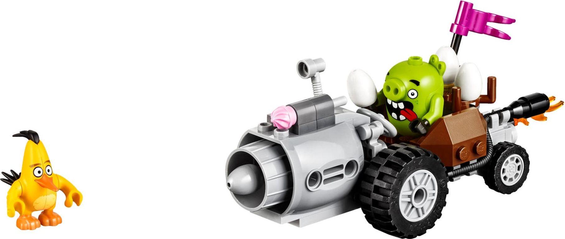 LEGO® Angry Birds Piggy Car Escape components