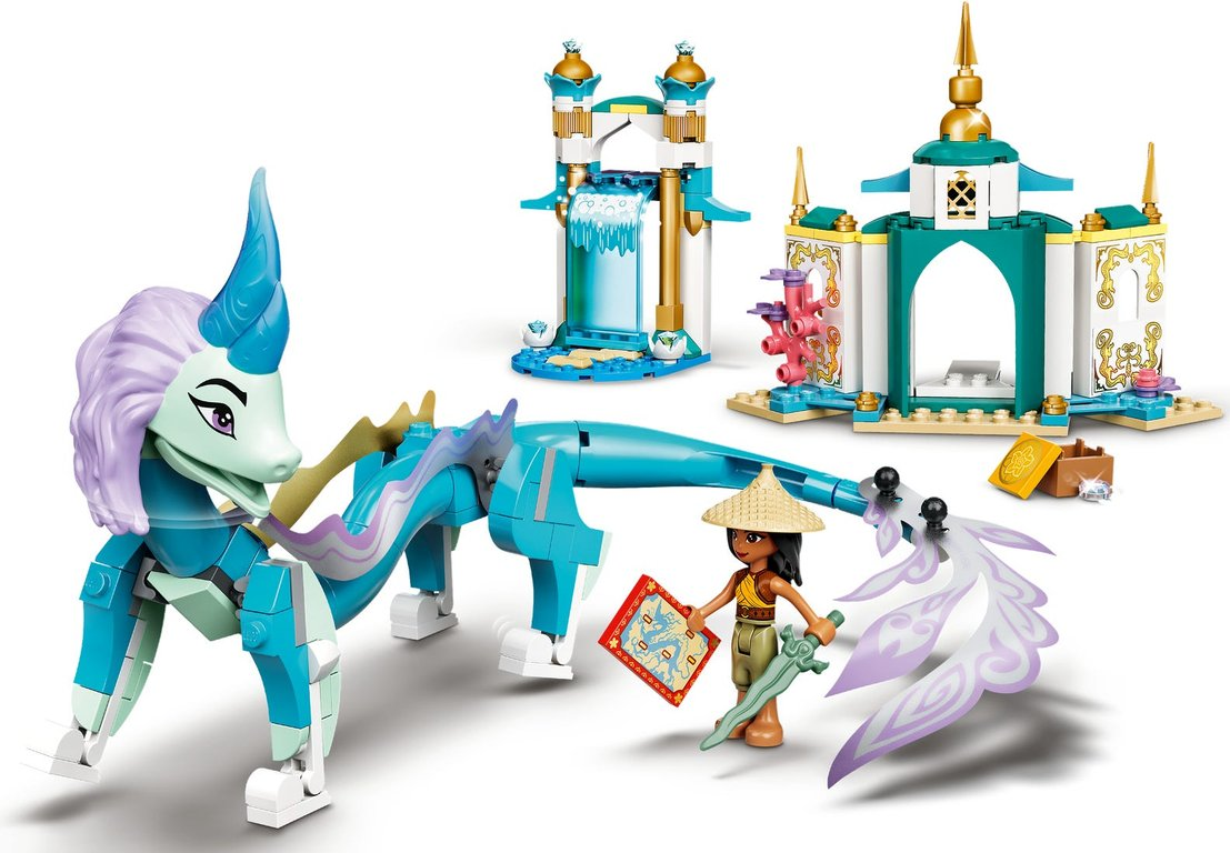 LEGO® Disney Raya and Sisu Dragon gameplay