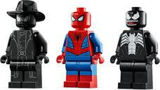 Spiderjet vs. Venom Mech minifigures