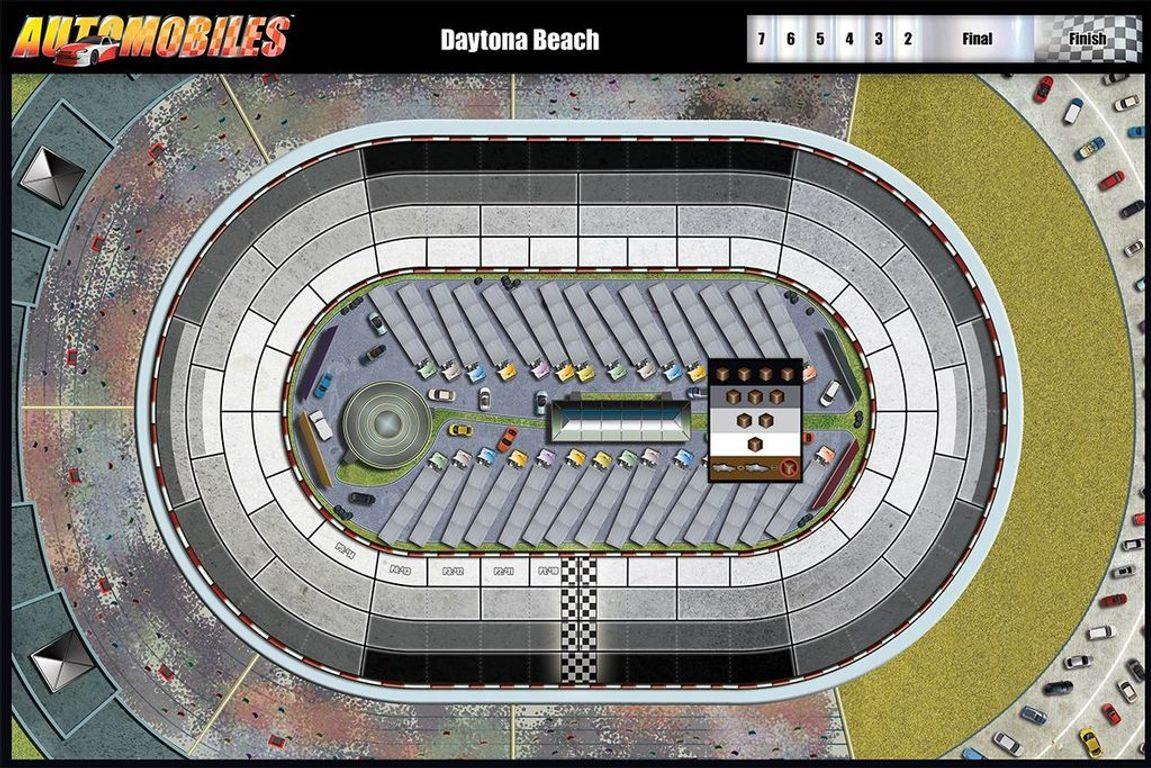 Automobiles game board