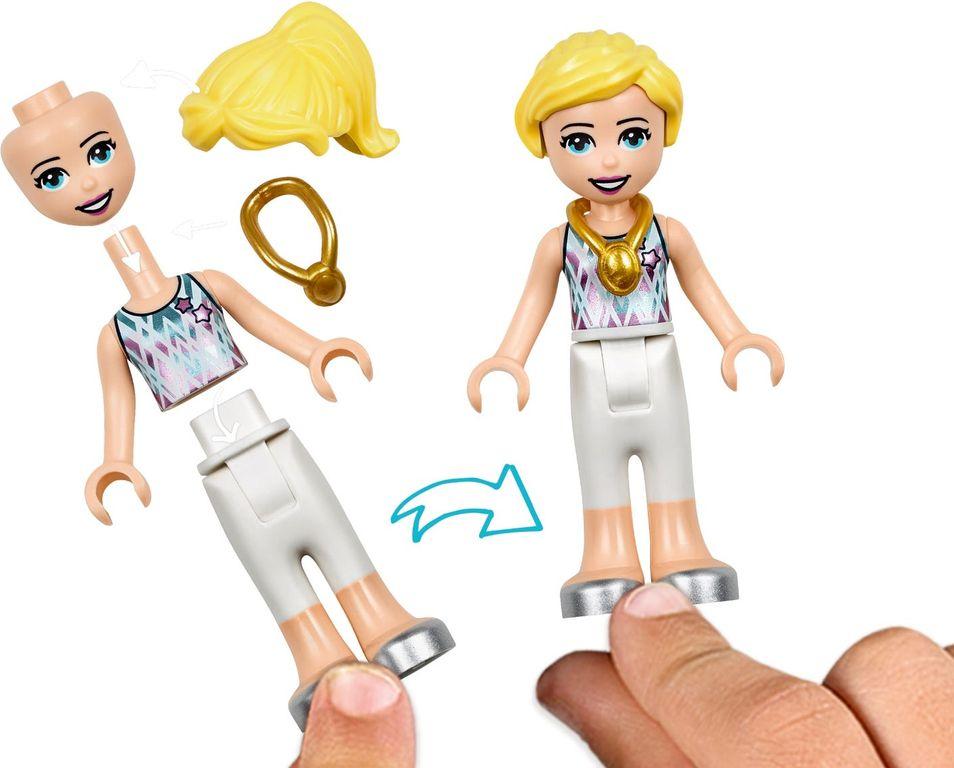 Stephanie's Gymnastics Show minifigures