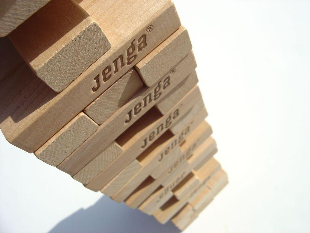 Jenga components