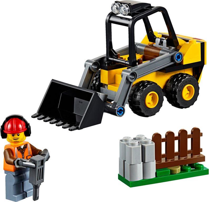 LEGO® City Construction Loader components