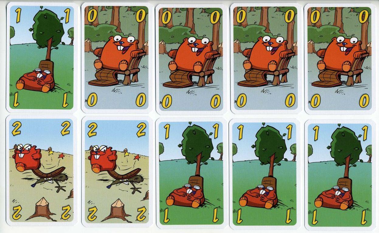Beaver gang cards