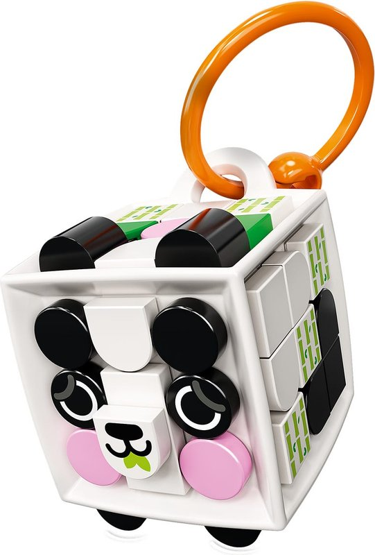 Bag Tag Panda components