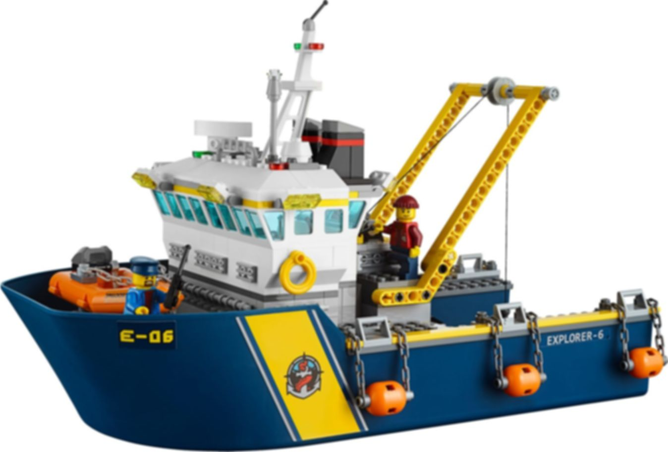 LEGO® City Deep Sea Exploration Vessel components