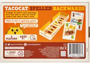 Tacocat Spelled Backwards back of the box