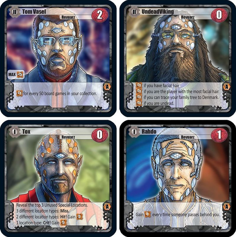 Among the Stars: The Ambassadors cards