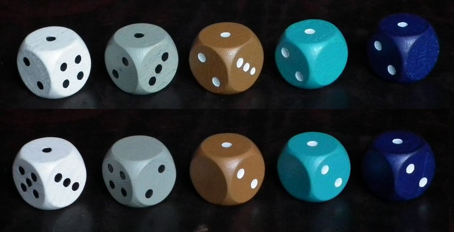 Pack & Stack dice