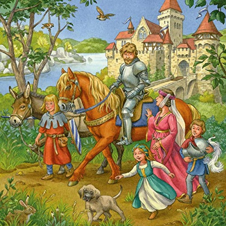 Knight Tournament in the Middle Ages