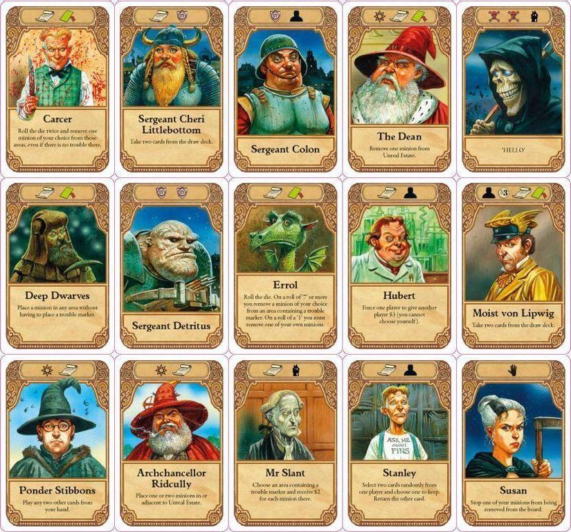 Discworld: Ankh-Morpork cards