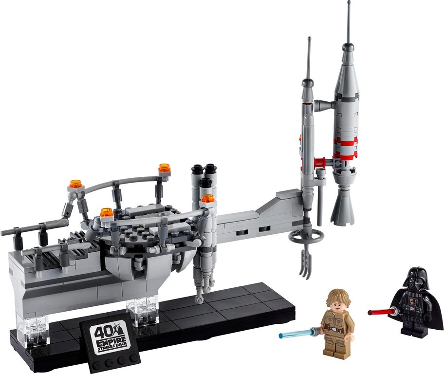 LEGO® Star Wars Bespin Duel components
