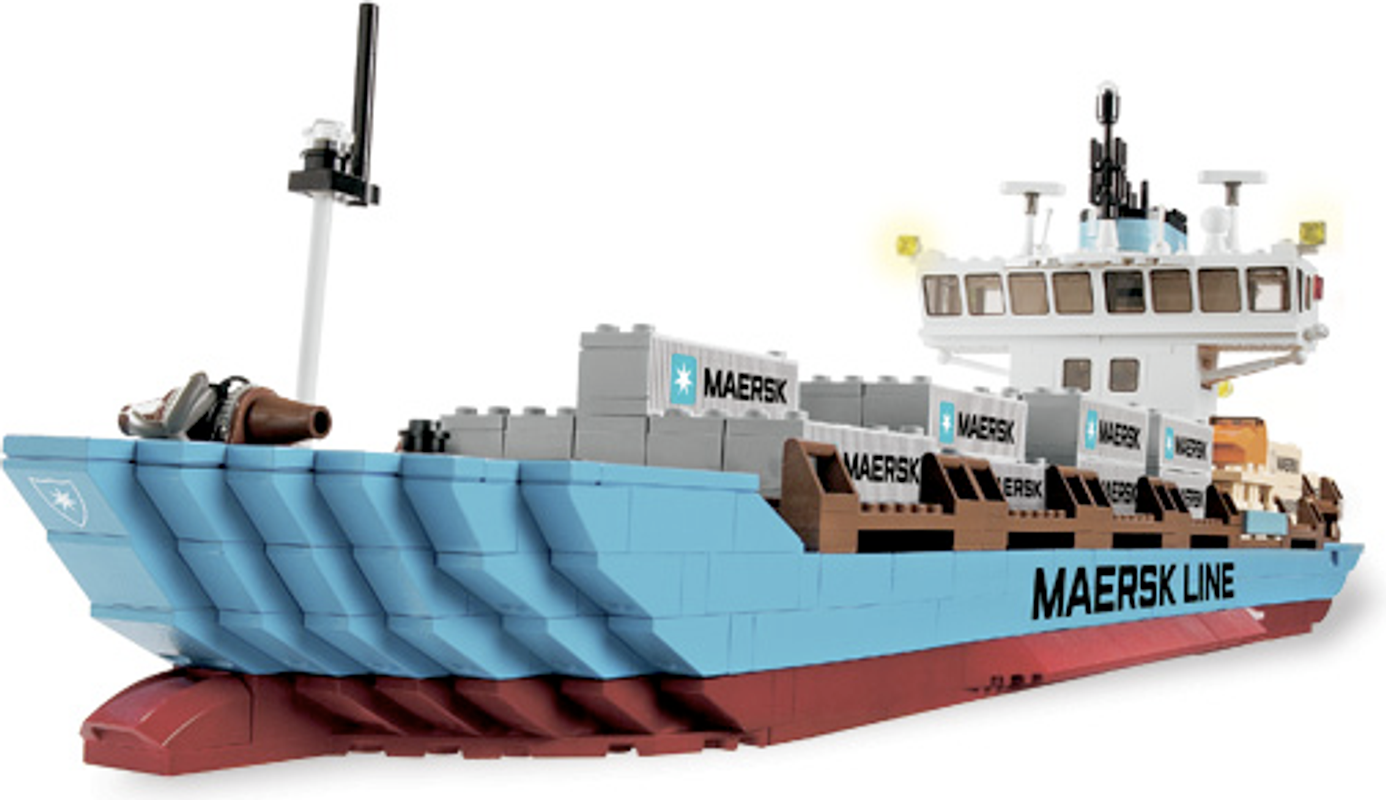 Maersk Container Ship components