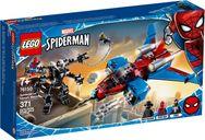 Spiderjet vs. Venom Mech
