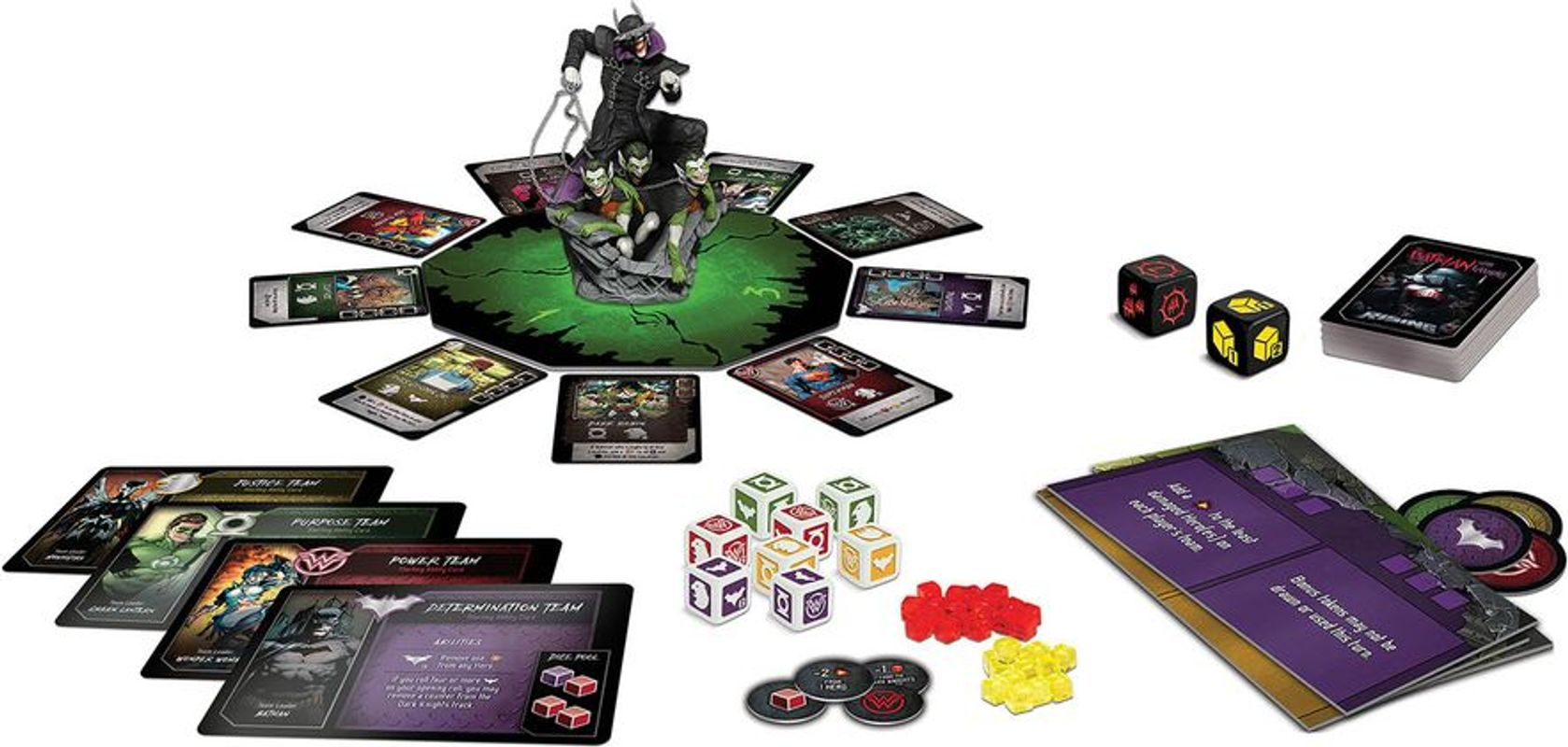 The Batman Who Laughs Rising components