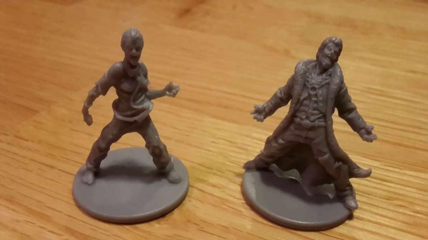 Zombicide Box of Zombies: VIP #1 - Very Infected People miniatures