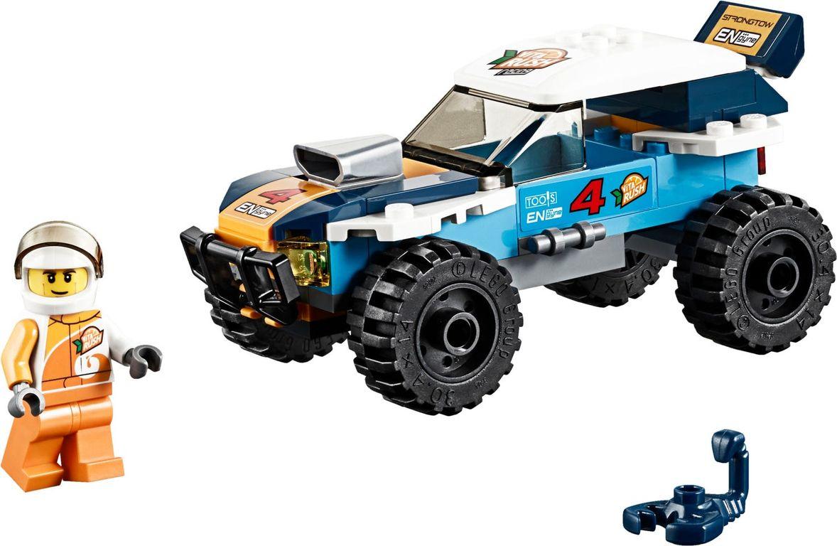 LEGO® City Desert Rally Racer components