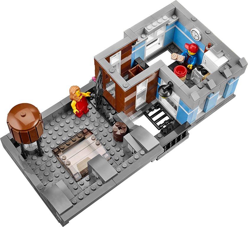 LEGO® Creator Expert Detective's Office interior
