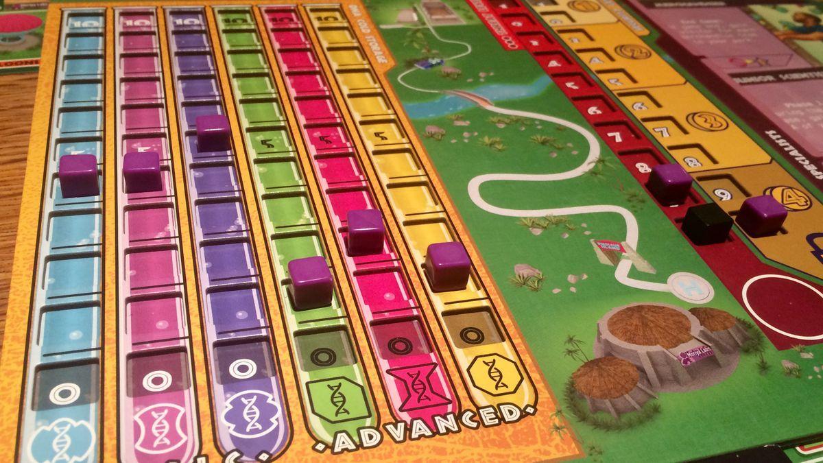Duelosaur Island gameplay