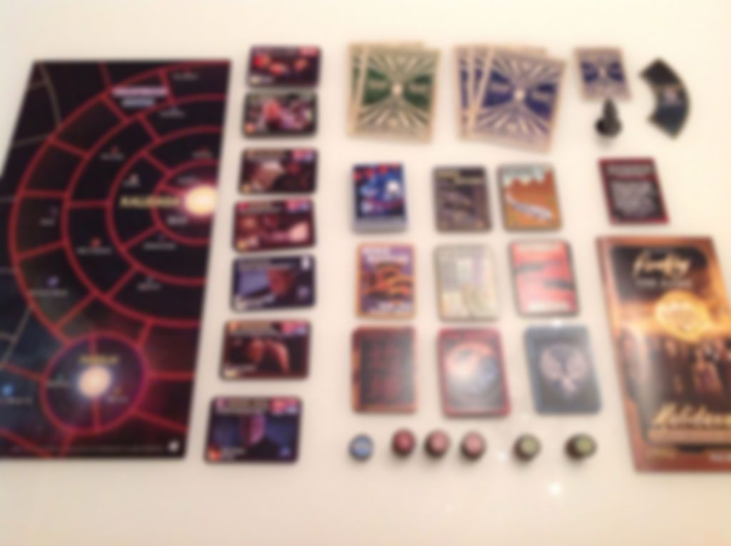 Firefly: The Game - Kalidasa components
