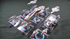 Halo: Fleet Battles - The Fall of Reach miniatures
