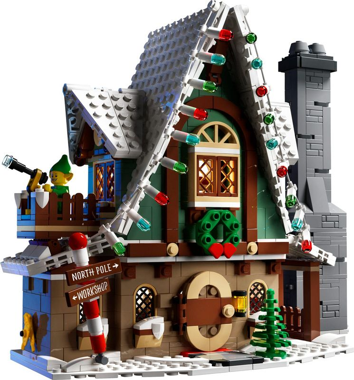 Elf Club House building