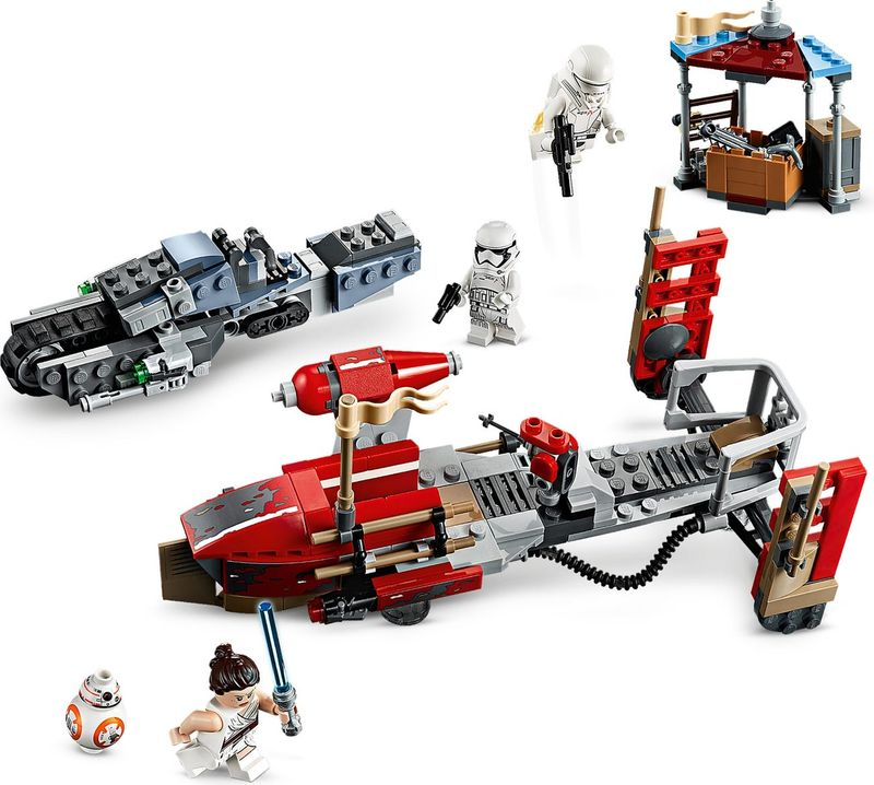 LEGO® Star Wars Pasaana Speeder Chase components