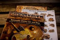 Gloomhaven Jaws of the Lion Removable Sticker Set components