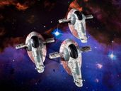 Star Wars: X-Wing Miniatures Game - Slave I Expansion Pack miniatures
