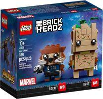 LEGO® BrickHeadz™ Groot & Rocket