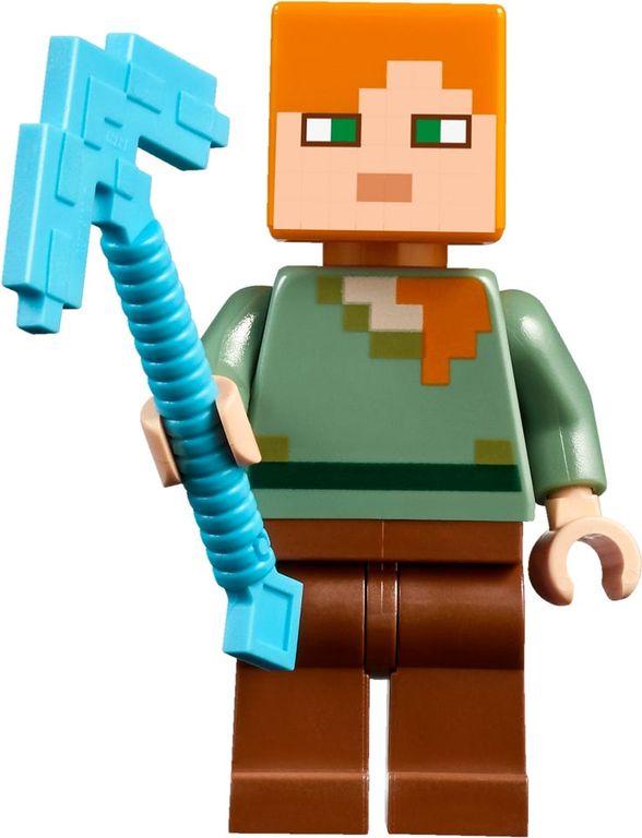 LEGO® Minecraft The Mushroom Island minifigures