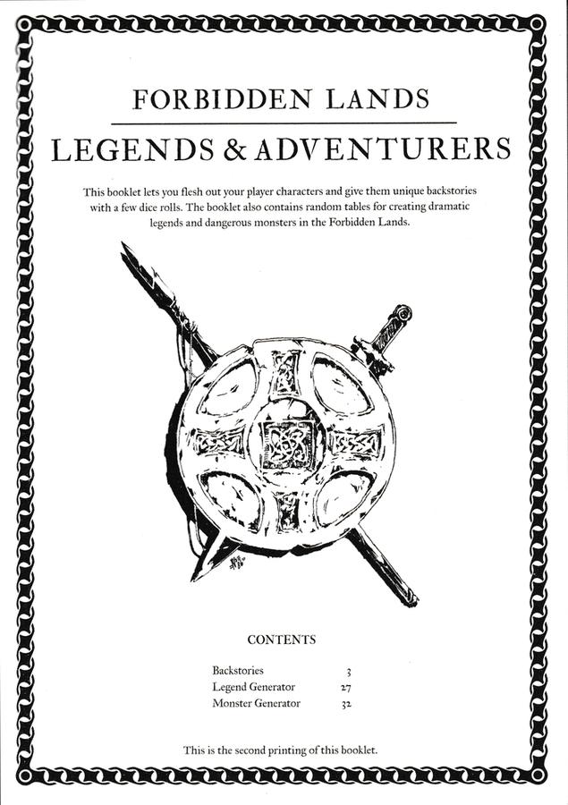 Forbidden Lands book