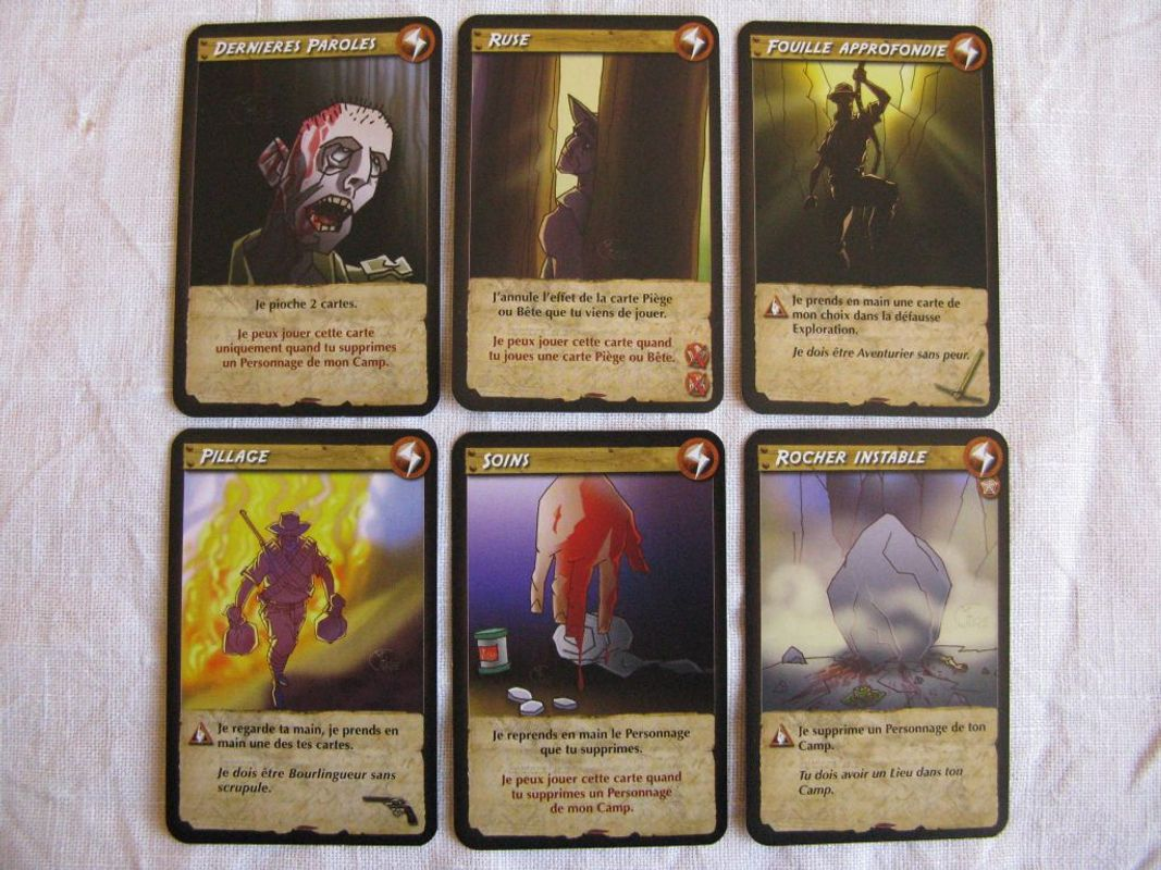 Expedition Altiplano cards