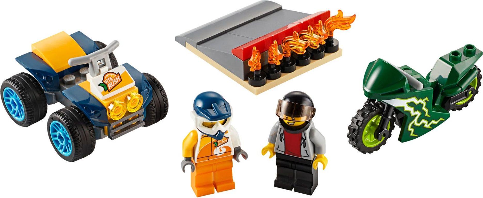LEGO® City Stunt Team components