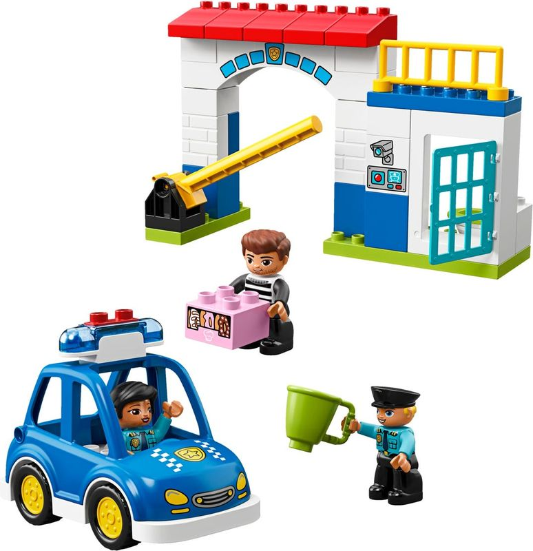 LEGO® DUPLO® Police Station components