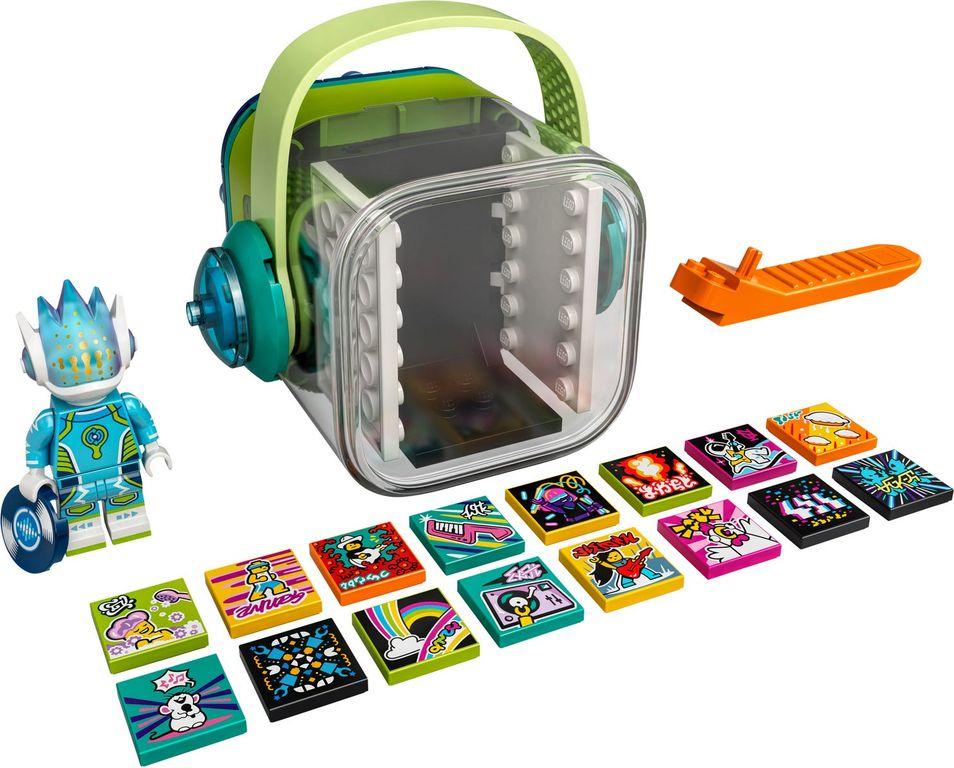 Alien DJ BeatBox components