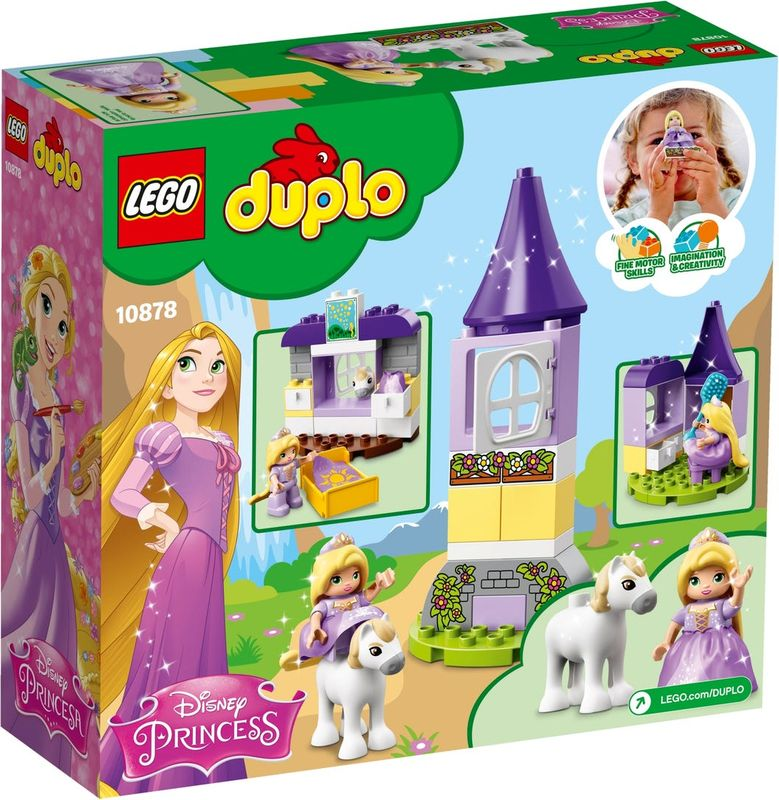 Rapunzel´s Tower back of the box