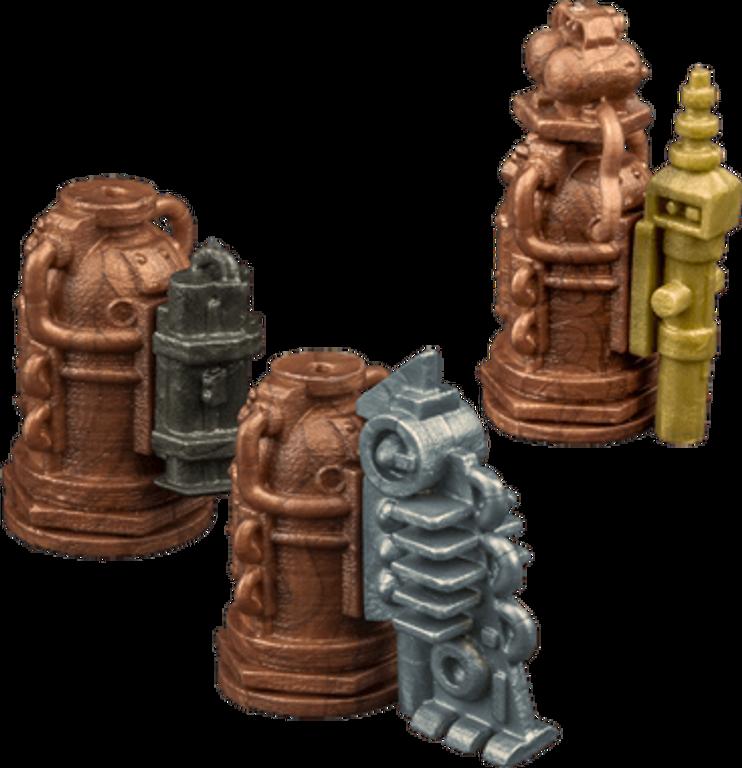 Planet Steam miniatures