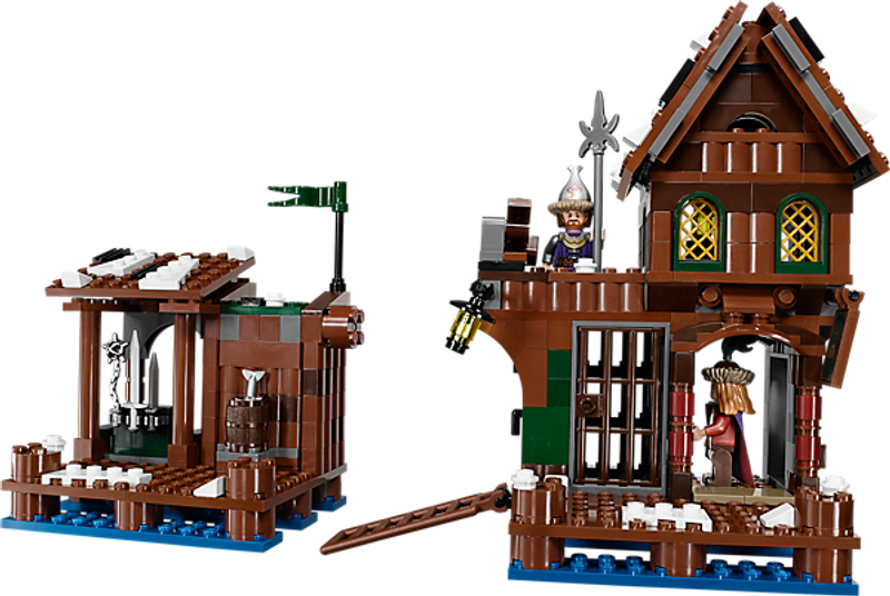 LEGO® The Hobbit Lake-town chase components