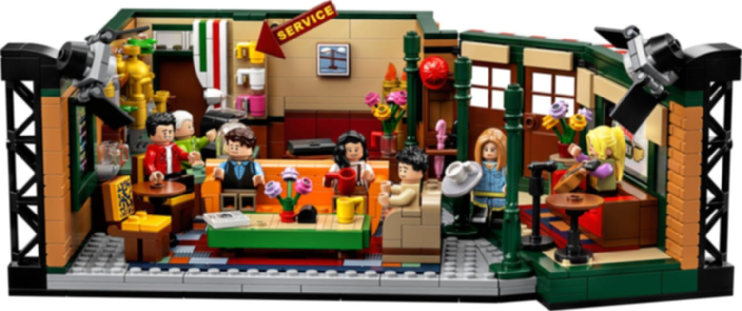 LEGO® Ideas Central Perk components