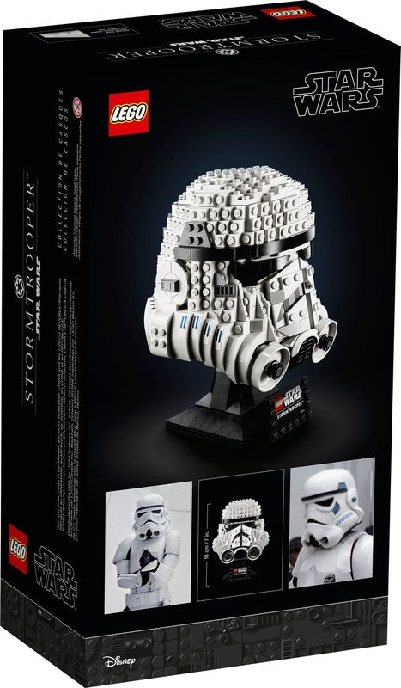 Stormtrooper™ Helmet back of the box