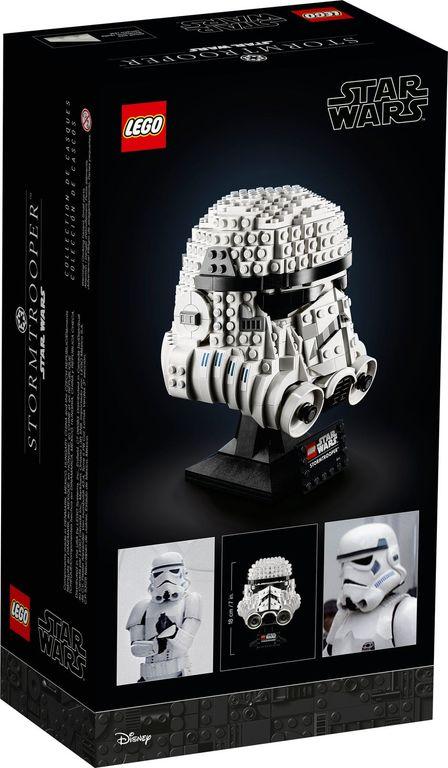 LEGO® Star Wars Stormtrooper™ Helmet back of the box
