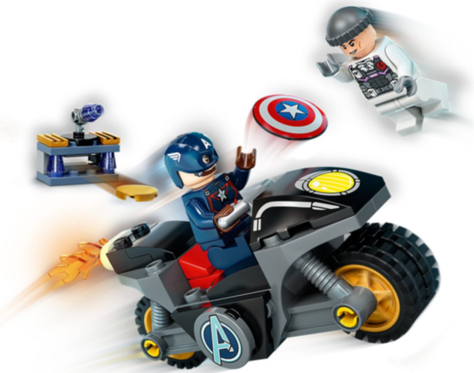 LEGO® Marvel Captain America and Hydra Face-Off gameplay