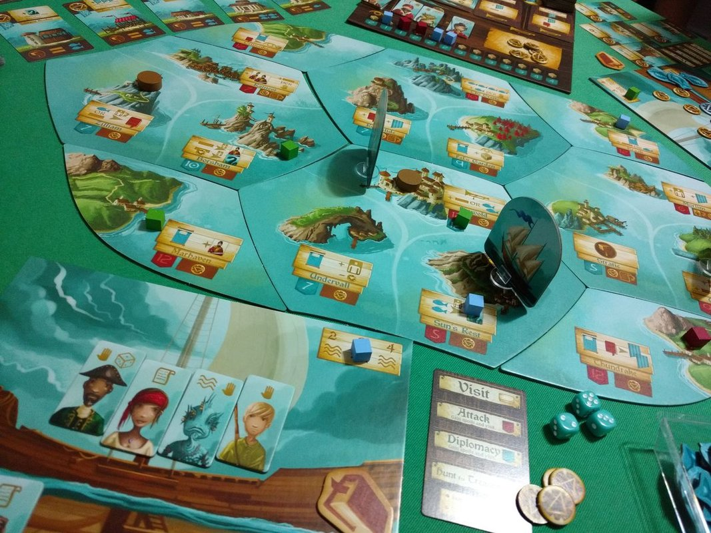 Islebound gameplay