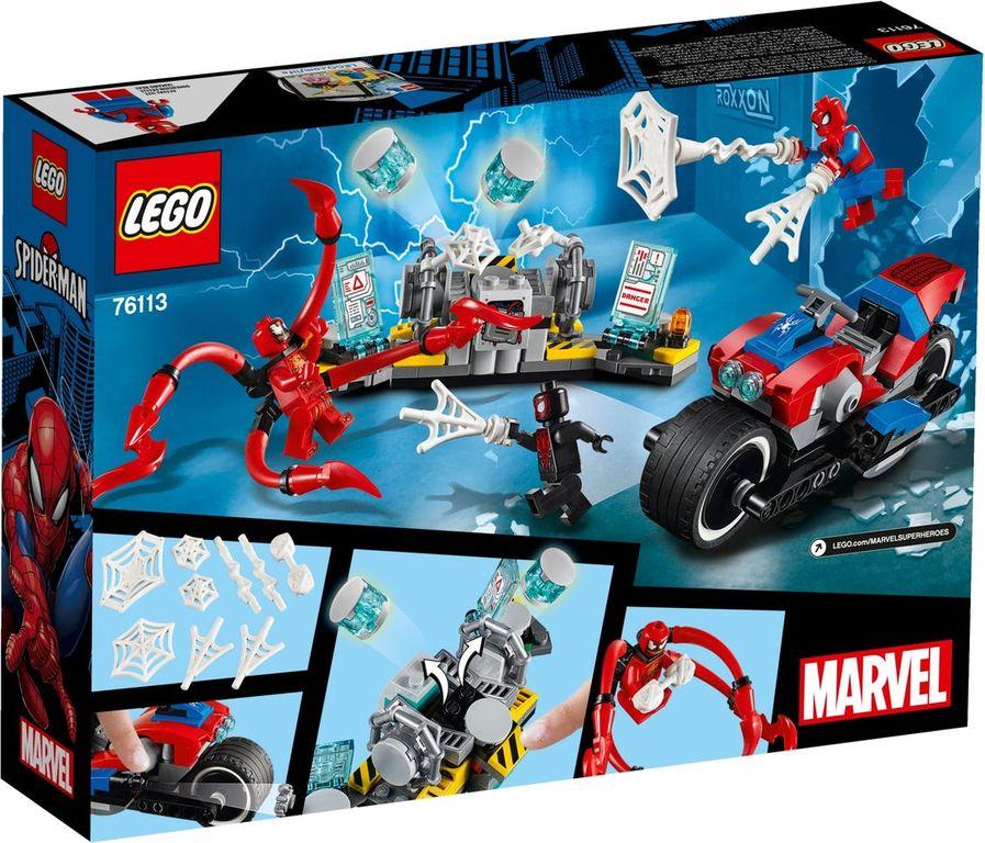 LEGO® Marvel Spider-Man Bike Rescue back of the box