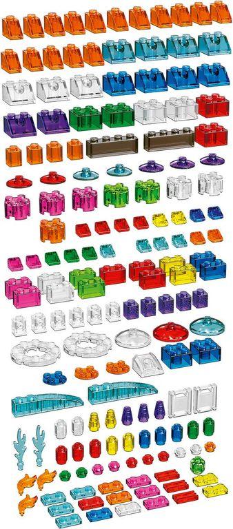 Creative Transparent Bricks components