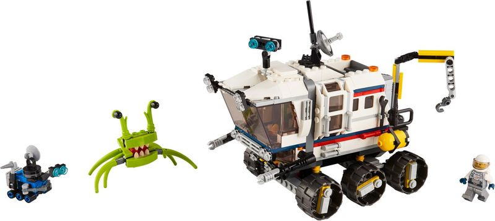 LEGO® Creator Space Rover Explorer components