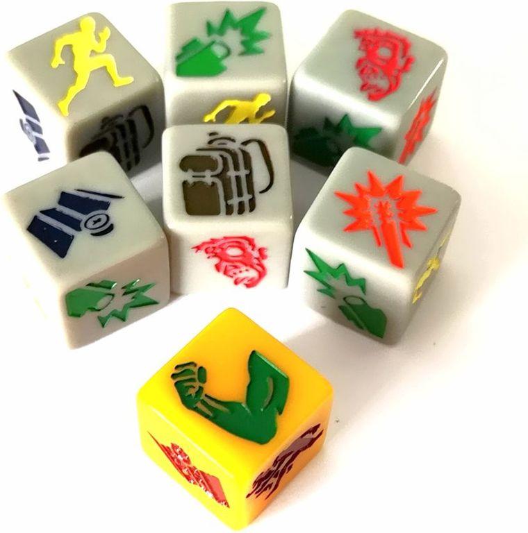 Run Fight or Die: Reloaded dice